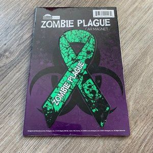 Zombie Plague Car Magnet